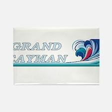 Unique Grand cayman Rectangle Magnet