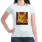 Devil Kitty Cat Jr. Ringer T-Shirt