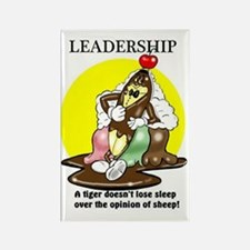 LEADERSHIP QUOTE  Rectangle Magnet