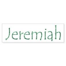 Jeremiah Bumper Bumper Sticker