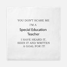 Special Education Teacher Queen Duvet