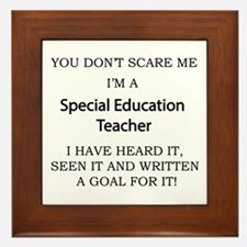 Special Education Teacher Framed Tile