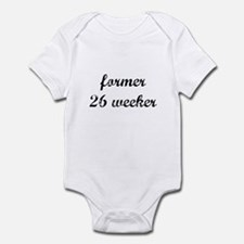 former 26 weeker Infant Bodysuit