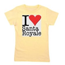 Love Santa Royale Girl's Tee
