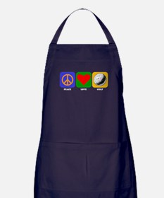 Peace Love Golf Apron (dark)