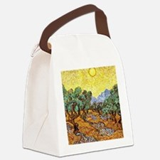 Van Gogh - Olive Trees with Yello Canvas Lunch Bag