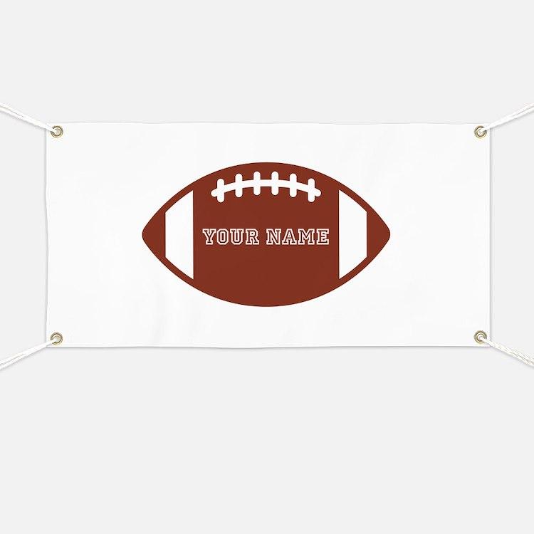 Custom name Football Banner