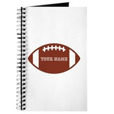 Custom name Football Journal