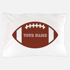 Custom name Football Pillow Case