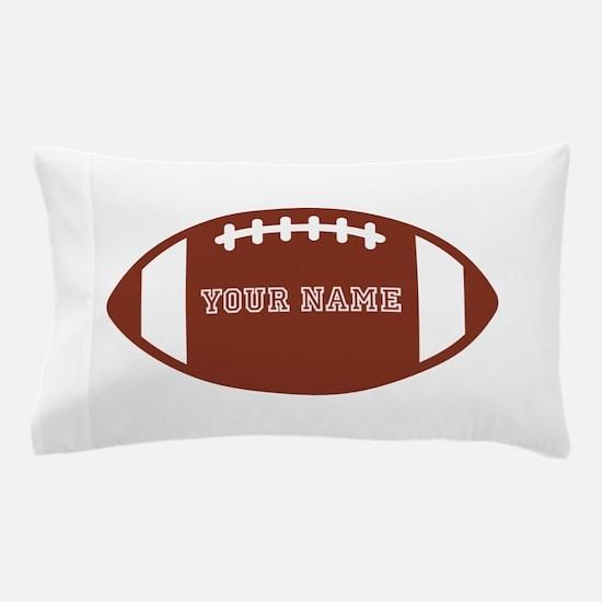 Custom name Football Pillow Case