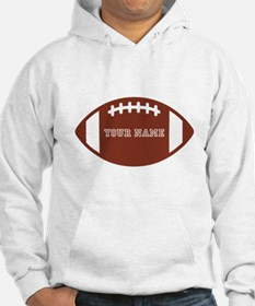Custom name Football Hoodie