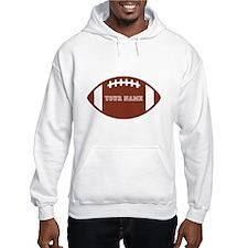Custom name Football Hoodie Sweatshirt