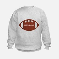 Custom name Football Sweatshirt