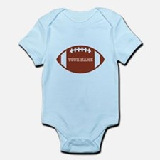 Custom name Football Onesie