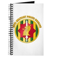 SSI - 89th Military Police Bde with Text Journal