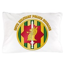 SSI - 89th Military Police Bde with Text Pillow Ca
