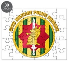 SSI - 89th Military Police Bde with Text Puzzle