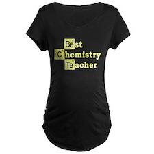 Best Chemistry Teacher Maternity T-Shirt