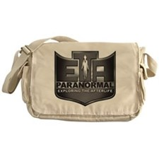 ETA Paranormal Steel Logo Messenger Bag