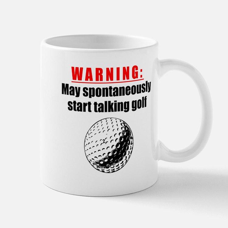Spontaneous Golf Talk Mugs