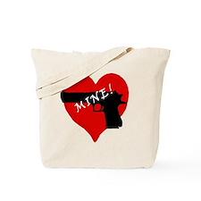 Love my Gun Tote Bag