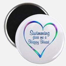 Swimming Happy Heart Magnets