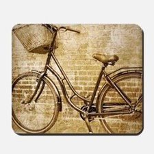 vintage Bicycle fashion art Mousepad