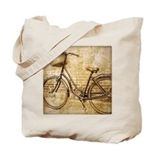 vintage Bicycle fashion art Tote Bag