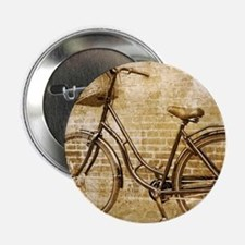 "vintage Bicycle fashion art 2.25"" Button"