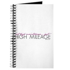 Just High Mileage Journal