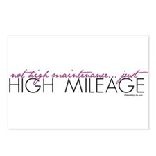Just High Mileage Postcards (Package of 8)