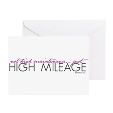 Just High Mileage Greeting Cards (Pk of 10)
