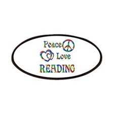 Peace Love READING Patches