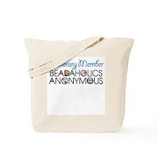 Beadaholics Anonymous Tote Bag