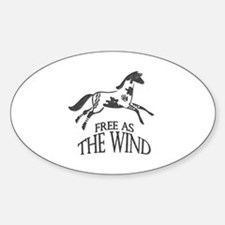 Free as the Wind Decal