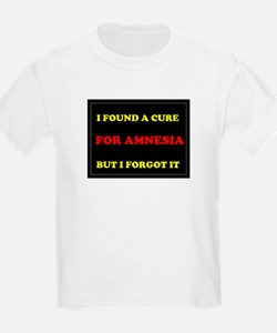 CURE FOR AMNESIA Kids T-Shirt