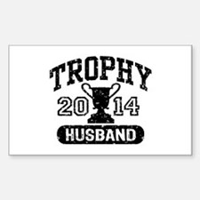 Trophy Husband 2014 Decal