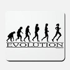 Evolution (Female Running) Mousepad