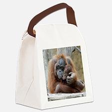 OrangUtan001 Canvas Lunch Bag