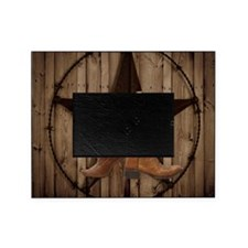 cowboy boots texas star  Picture Frame
