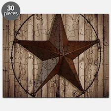 barnwood texas star Puzzle