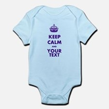 Personalized Keep Calm Onesie