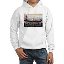 THE WISDOM OF SILENCE Hoodie