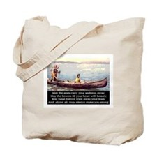 THE WISDOM OF SILENCE Tote Bag