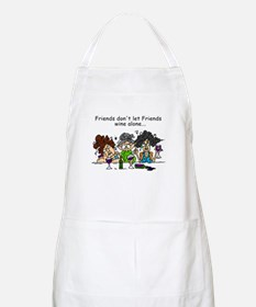 Friends and Wine Apron