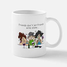 Friends and Wine Mug