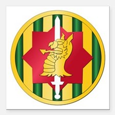 SSI - 89th Military Police Bde Square Car Magnet 3