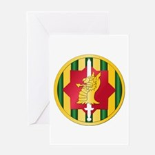 SSI - 89th Military Police Bde Greeting Card