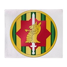 SSI - 89th Military Police Bde Throw Blanket