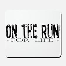 On the Run Mousepad